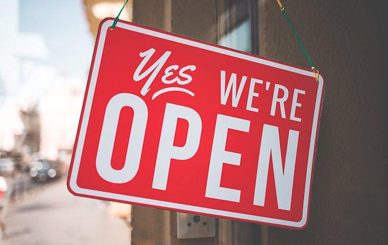 yes we are open update on covid-19