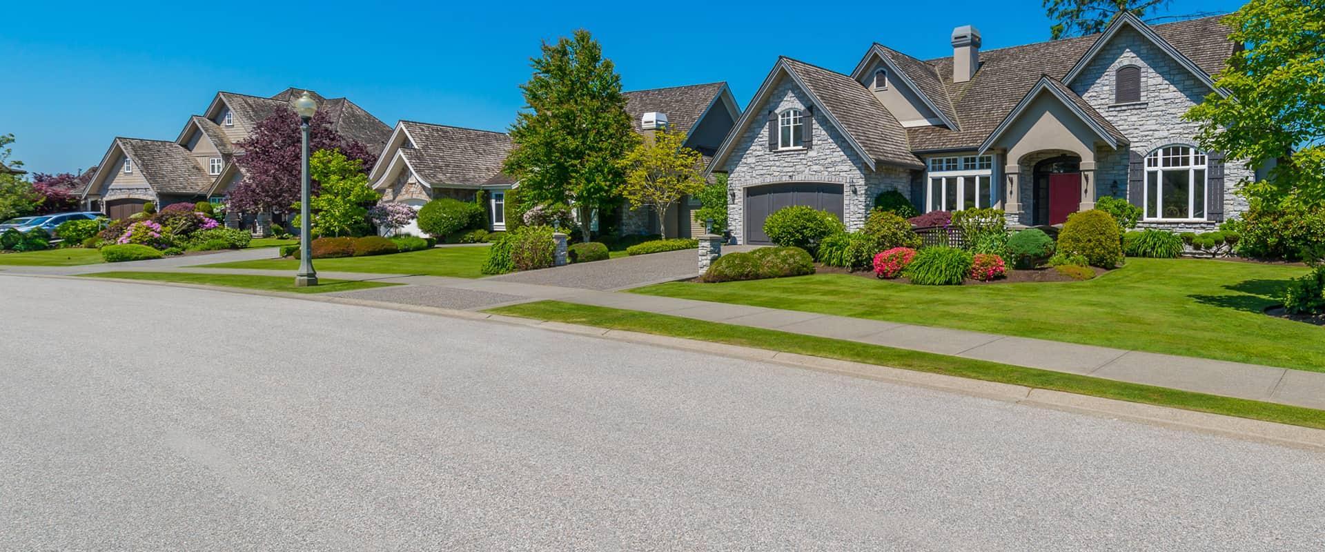 street view of a residential neighborhood in edenton north carolina