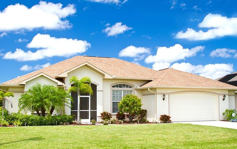 a street view of a large coral springs florida home