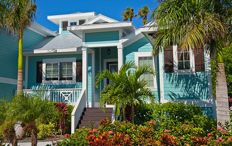 street view of a quaint home in Weston, FL