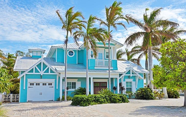 a street view of a large fort lauderdale florida home