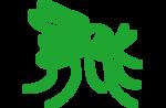 green mosquito icon