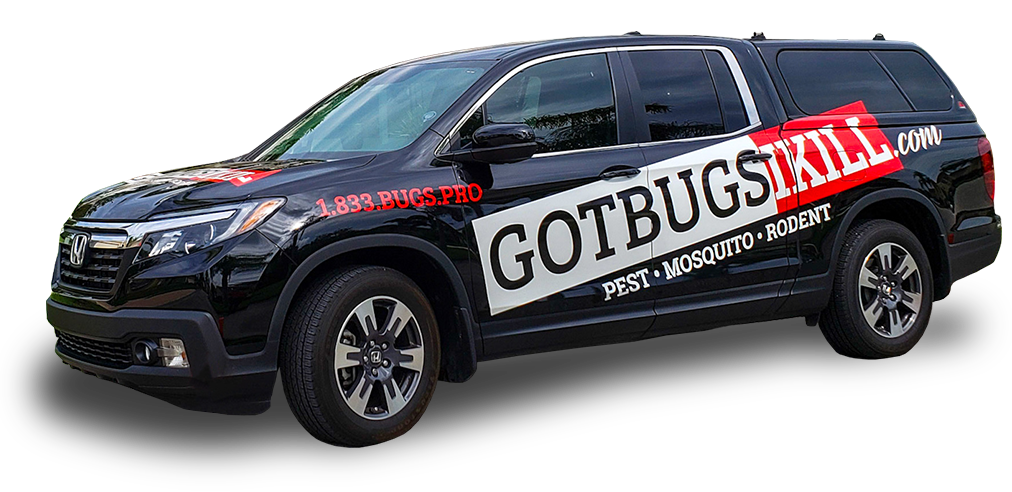 a pest control service vehicle in fort lauderdale florida