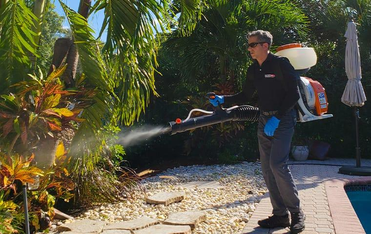 a gotbugsikill service professional spraying for mosquitoes in boca raton florida