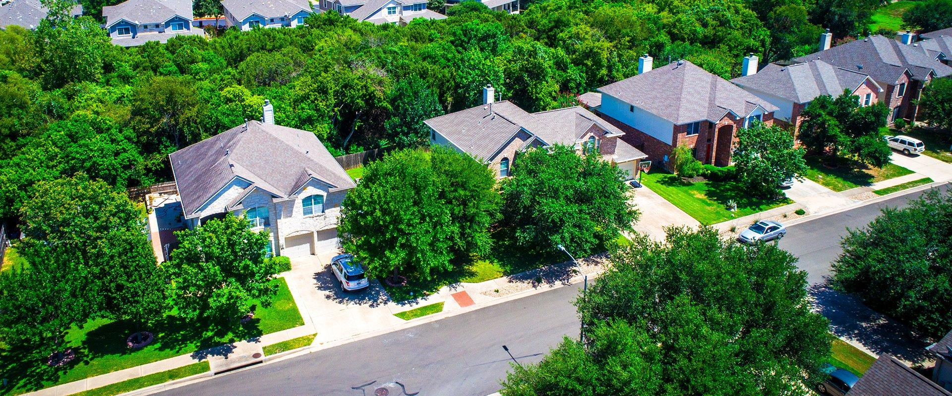 suburb homes in texas