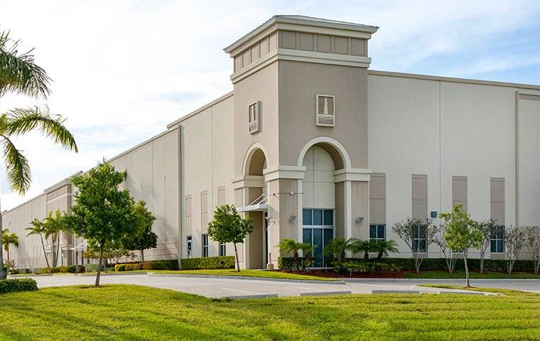 large commercial building