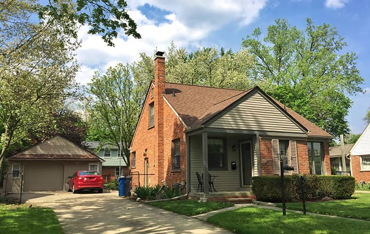 street view of a home serviced by eco pest control in fargo michigan