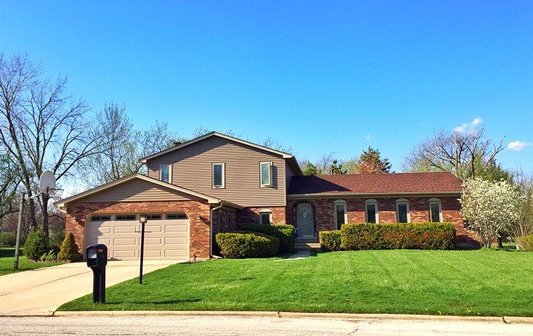 street view of a home and landscape in saint clair michigan