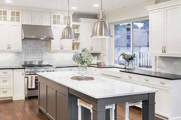 nice clean kitchen in a montgomery texas home
