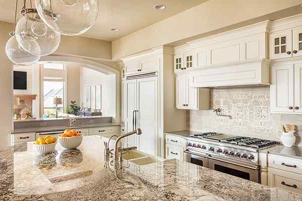 a kitchen inside a sugar land texas home