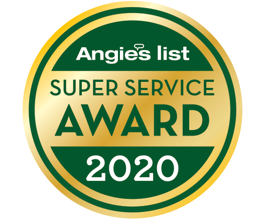 Miche Pest Control earned the Super Service Award For 2020 From Angie's List