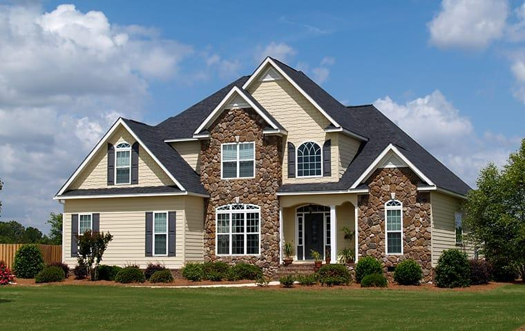a residential home serviced by miche pest control in rockville maryland