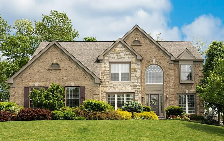 a residential home serviced by miche pest control in silver spring maryland