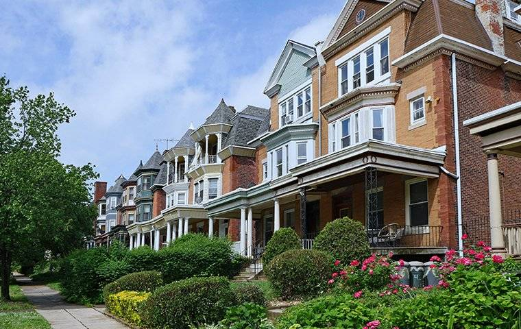 a street view of homes in monmouth county new jersey