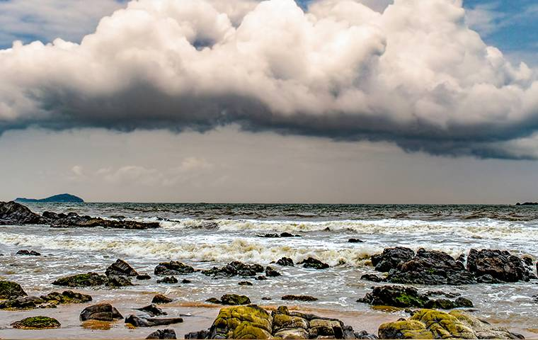 inclement weather on the coast