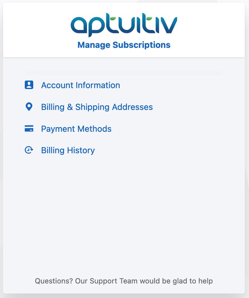 Billing account