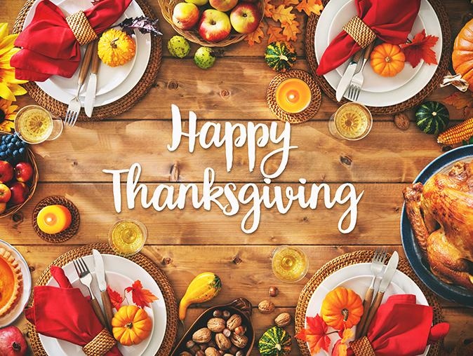 happy thanksgiving from arrow pest control