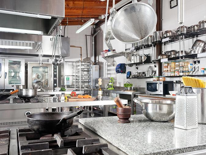 commercial kitchen in nj protected from pests using IPM