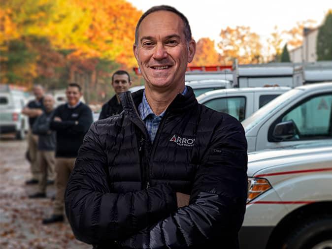 stewart lenner president of arrow pest control
