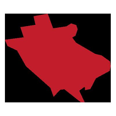 outline of mercer county, nj