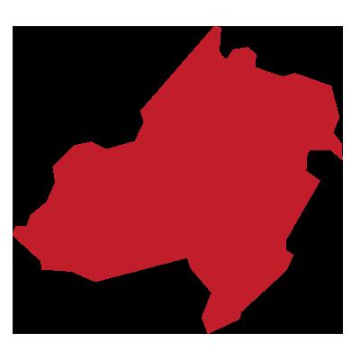 outline of morris county, nj