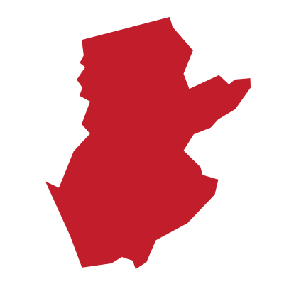 outline of somerset county, nj