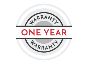 one year warranty icon