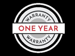 one-year warranty icon