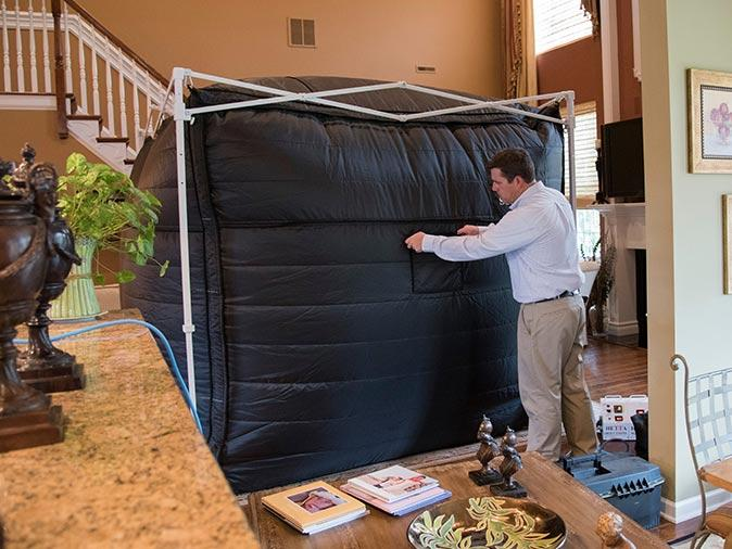bed bug heat treatment in a new jersey home