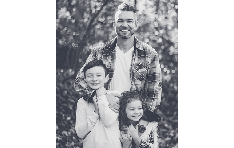 owner and his kids