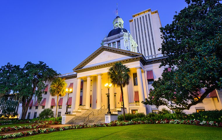 a government building in tallahassee florida