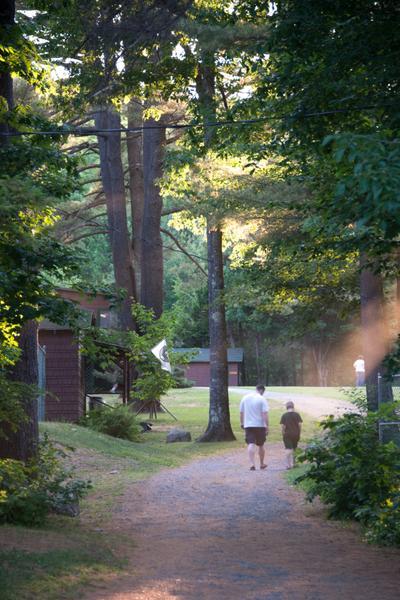 Camp walk