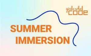 New Girls Who Code VIRTUAL Summer Immersion Program