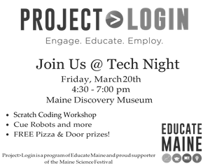 TechNight registration is now open for March 20th event in Bangor!!