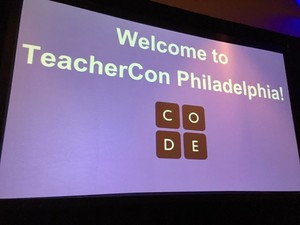 #TeacherCon Sunday Night by Jeff Bailey