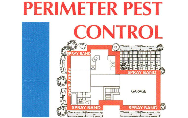 graphic of a treatment perimeter