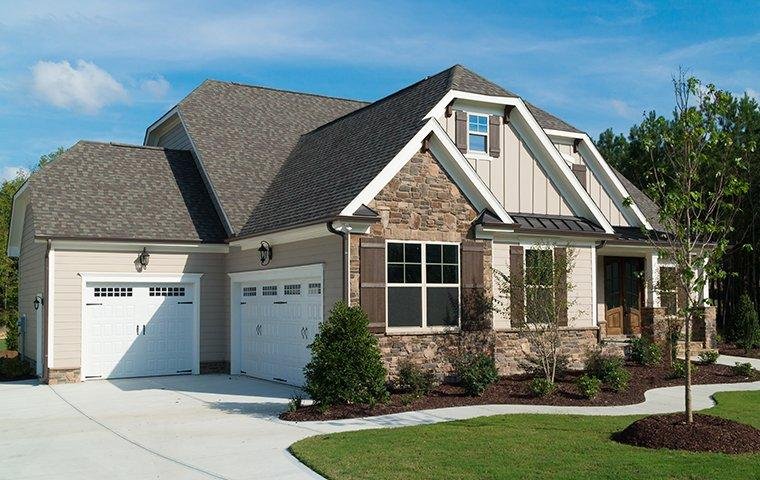 a large home and driveway in rock falls illinois