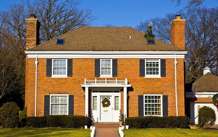 large brick suburban home in rockford illinois