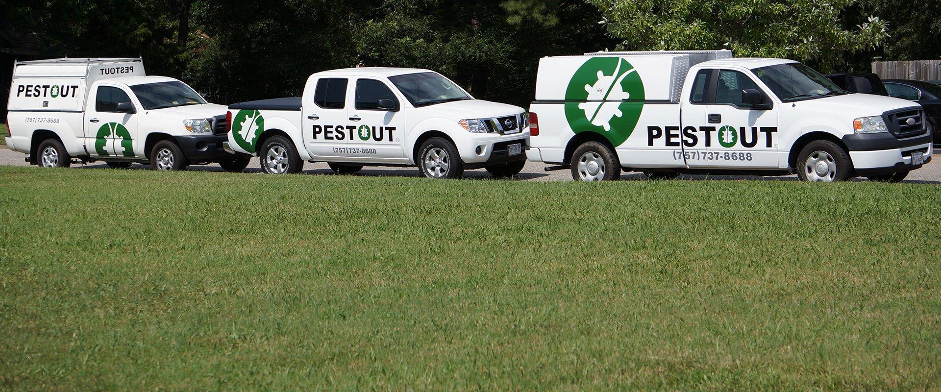 pestout vehicle fleet