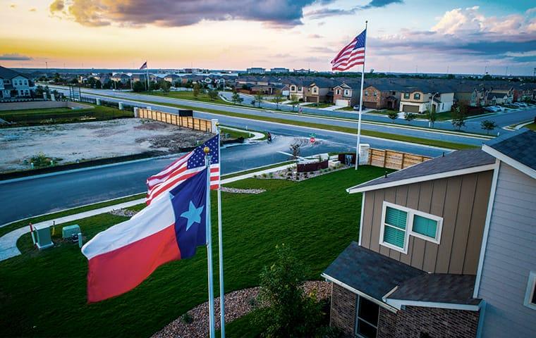 a residential neighborhood in frisco texas