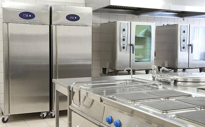 commercial kitchen cleaned by prosite pest control