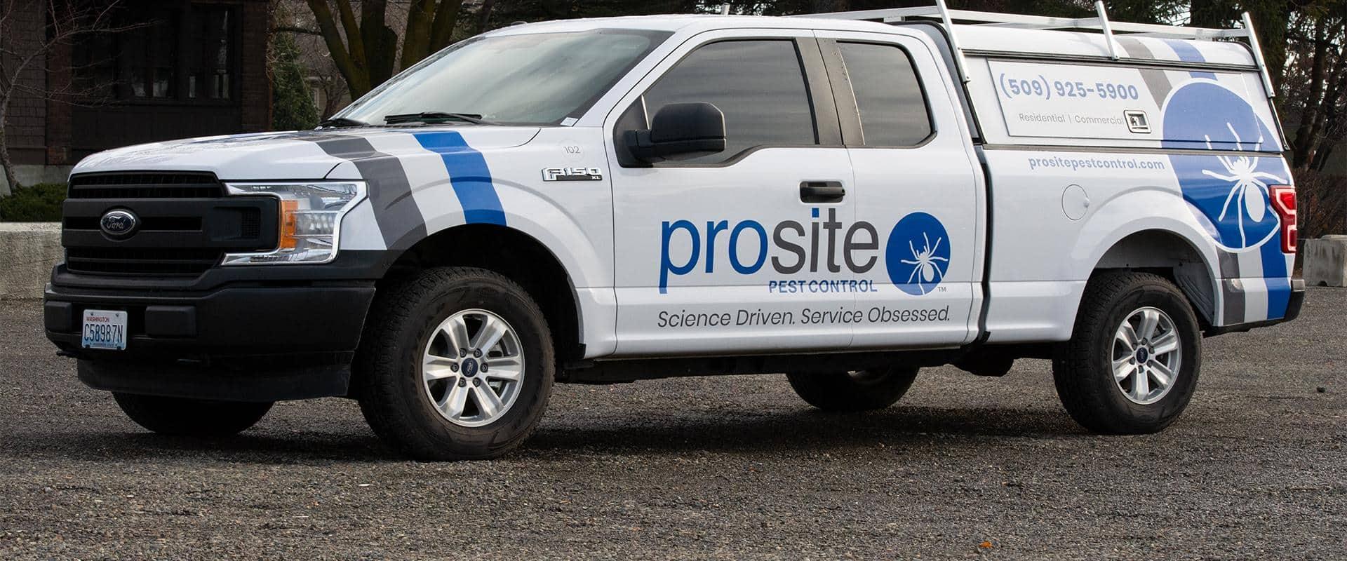 prosite pest control truck in ellensburg wa