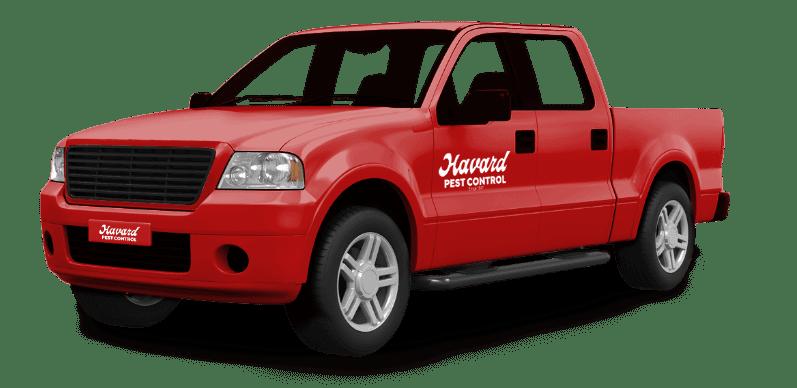 Havard Pest Control Truck
