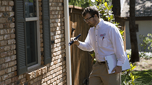 initial pest control inspection