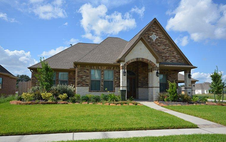 curbside view of a home in fairview texas