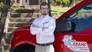 north texas pest control specialist and vehicle