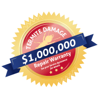 $1,000,000 termite damage repair guarantee