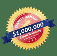$1,000,000 termite damage repair guarantee
