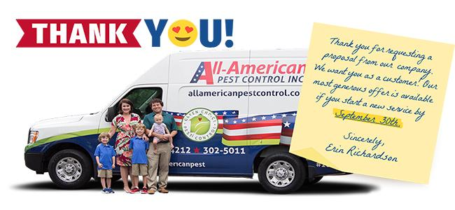 all-american march offer postcard