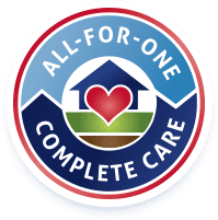 all for one complete care logo